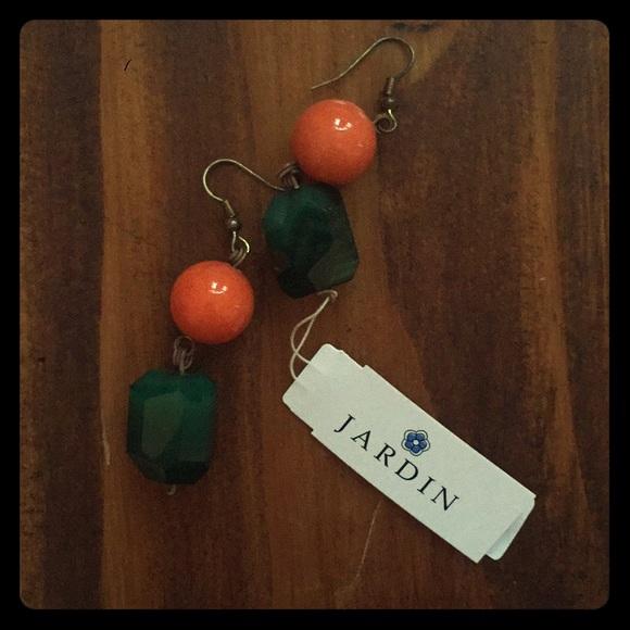 Jardin Jewelry - Jardin Multi Color Agate Drop Earrings
